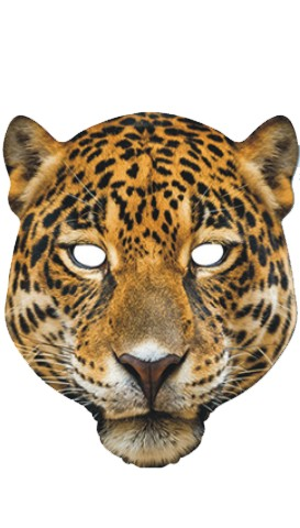 MASCARA LEOPARDO